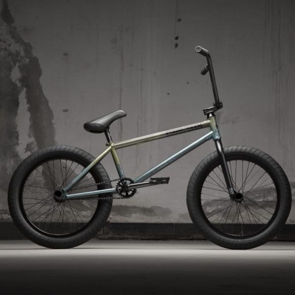 KINK Cloud 2021 Gloss Translucent Teal BMX bike